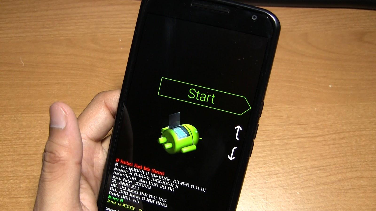 Как перепрошить телефон Android самостоятельно через компьютер 8
