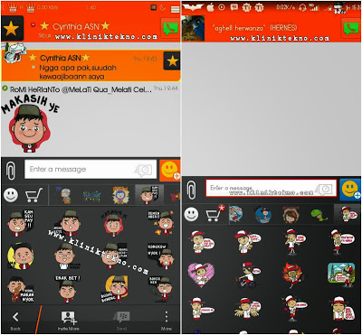 Update Tutorial Cara Free Sticker Untuk BBM Android