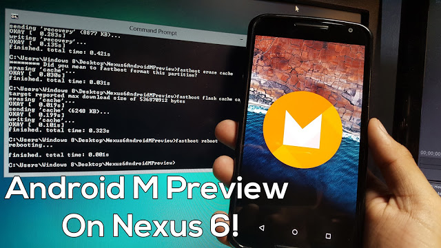 Official Upgrade Nexus 6 To Android M